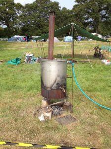 Camp boiler
